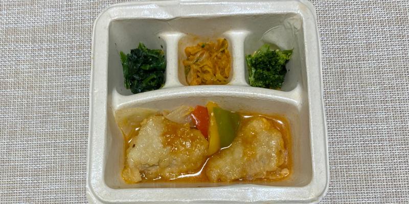 白身魚の甘酢ソース